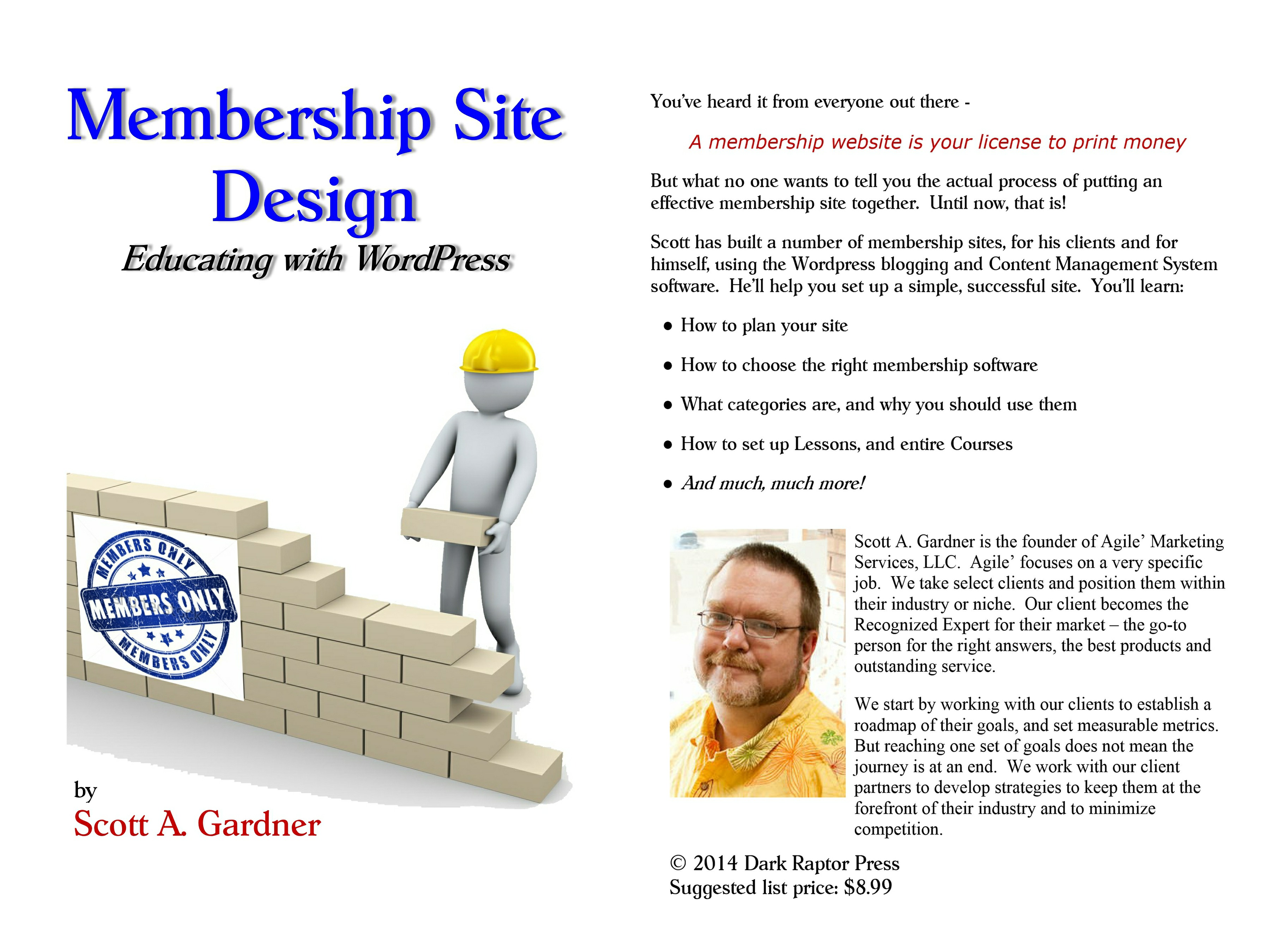 Membership Site Design Image